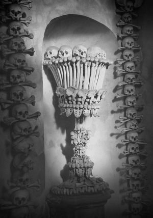 The Bone Church     Kutna Hora, Czech Republic